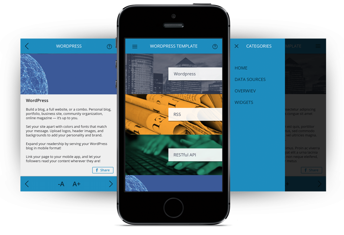 WordPress App Sviluppo App WordPress