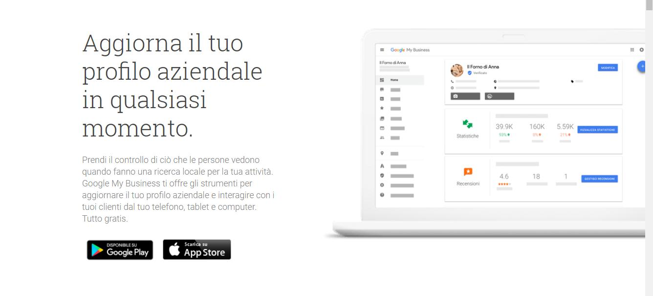 Come gestire il proprio account Google My Business