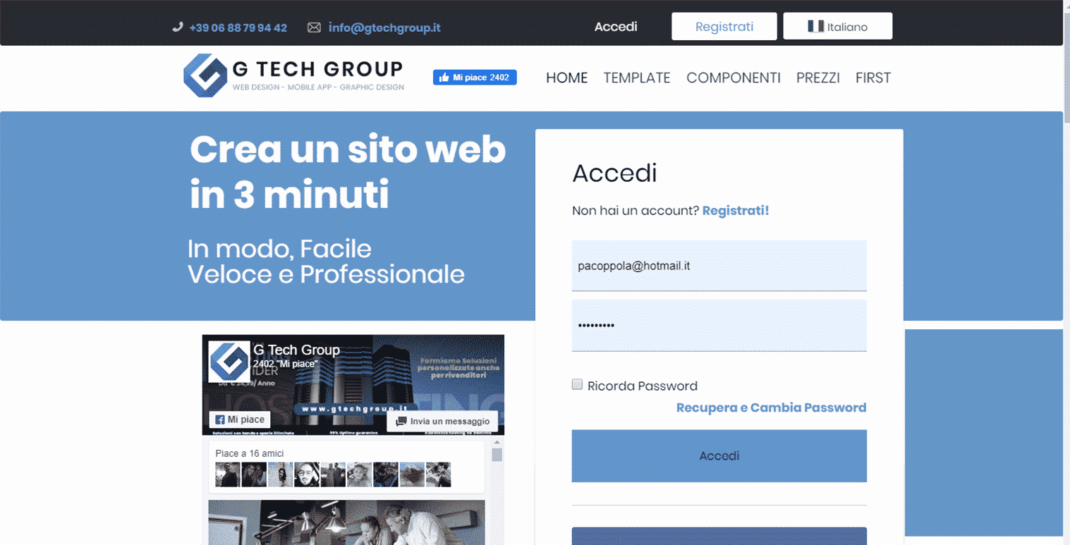 Gianluca Gentile editorgtechgroup creazionesitiweb gtechgroup web 18 Dicembre 2020